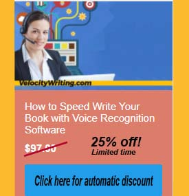 voice writing online course
