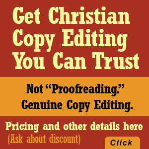 christian book copy editing